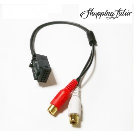 Cable Rca opel pour autoradio CD30 MP3 CDC40 CD70 NAVI DVD90 NAVI