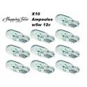 X10 Ampoule W5W 12V halogène voiture moto camion