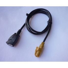 CABLE USB POUR AUTORADIO